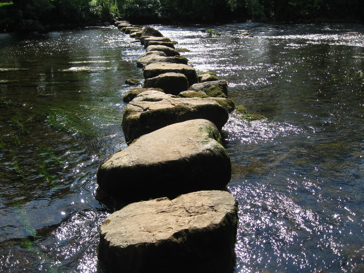 stepping stones   Wandervogel Diary Stepping