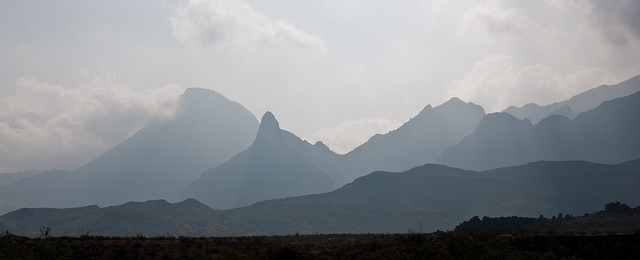 Big Bend mountain haze
