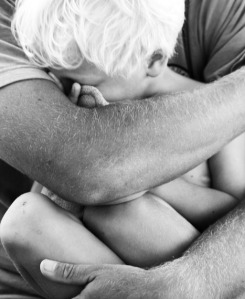 Comforting Boy