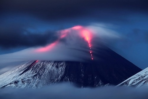 volcano in cloud 2