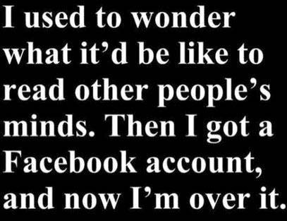 facebook - over it