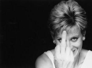 Princess Diana finger