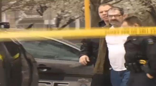 cross-miller being taken into custody