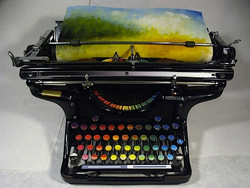 color typewriter
