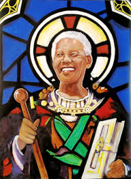mandela as saint
