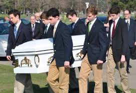 Saint Joseph of Armathea Pallbearer Ministry, at Saint Ignatius High School