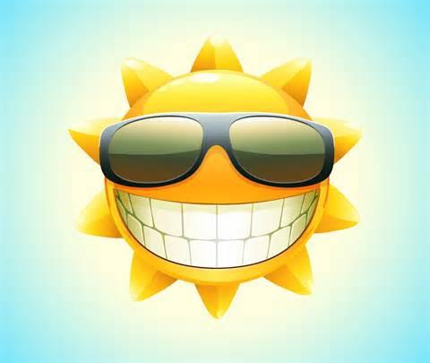 sun face 4