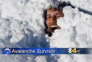 avalanche survivor