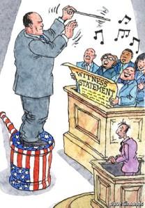 prosecutor conducting