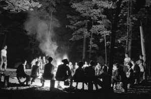 Singing-Round-the-Campfire-Gordon-Parks-for-Farm-Security-Administration-1943