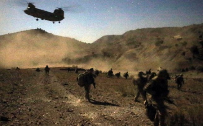 Afghanistan War Scene