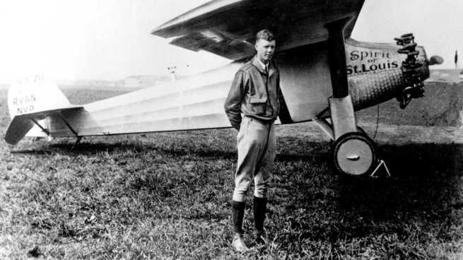 Charles-Lindbergh-Spirit-of-Saint-Louis-Photo