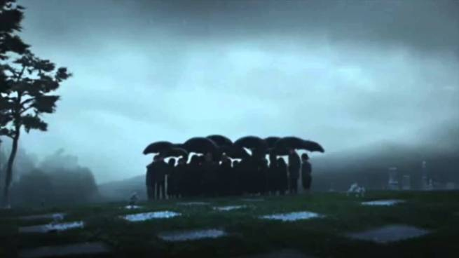funeral umbrellas 1