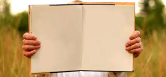 blank book 1
