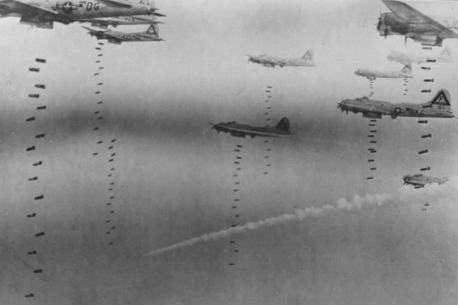 bombing-run