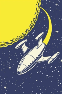 pop-ink-csa-images-rocket-ship-in-outer-space