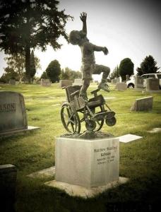 Childs Grave Marker