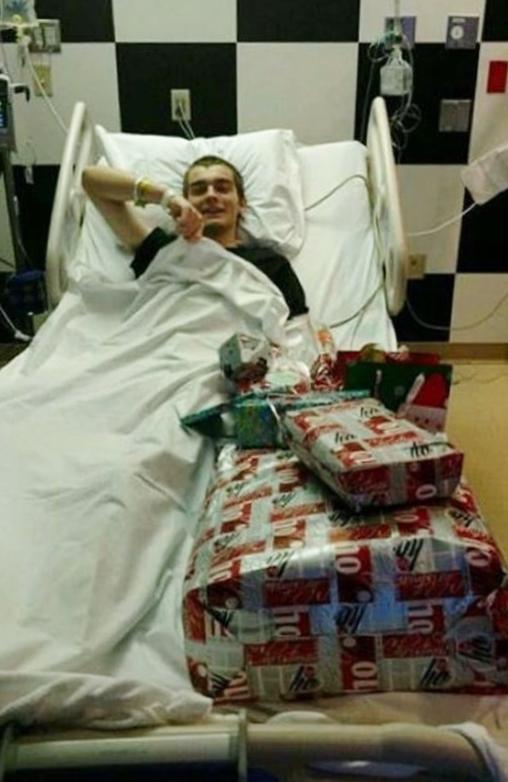 Paul à Pendleton, hospitalisé