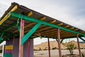 colorfulDesertShack-roofClose