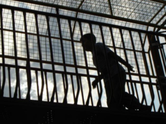 kid prisoner silhouette