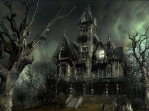 halloween-scary-house